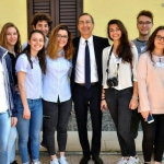 I ragazzi con il sindaco Giuseppe Sala